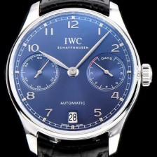 [아이더블유씨] 남성용 포루투기즈 IW500710 블루 다이얼 오토매틱 무브먼트 IWC0201